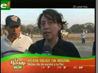 Indígenas deciden reanudar la marcha