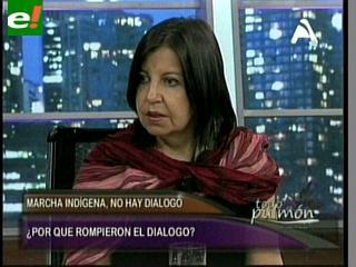 """Teresa Morales: """"Los marchistas nos dejaron con los crespos hechos"""""""