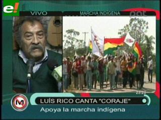 """Luis Rico: """"El TIPNIS es una verdadera maravilla"""""""