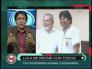 """Cordero: """"Lula vino a reflexionar a Evo para que exista diálogo con los indígenas del TIPNIS"""""""