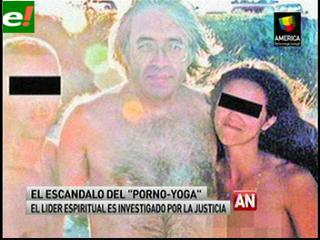 """El escándalo del """"porno-yoga"""""""
