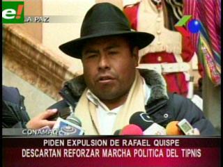 CONAMAQ desconoce a Rafael Quispe y pide su expulsión