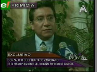 Gonzalo Hurtado es el nuevo Presidente del Tribunal Supremo de Justicia