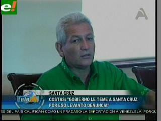 Costas no pedirá disculpas a García Linera