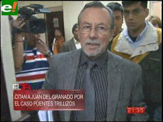 Fiscal cita a ex alcalde Del Granado por el caso puentes trillizos
