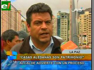 """Revilla le recuerda Evo, """"no se puede construir Palacio en inmuebles declarados patrimonio"""""""