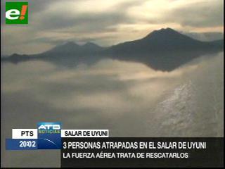 Reportan tres turistas desaparecidos en el Salar de Uyuni