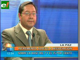 Gobierno: Incremento salarial será superior al índice de inflación del 2011