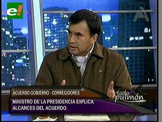 Quintana: Acuerdo entre Gobierno y Corregidores de 45 comunidades respaldan la Consulta Previa
