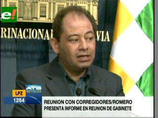 Romero: Firma de acuerdo con corregidores no significa aprobación de la carretera por el Tipnis