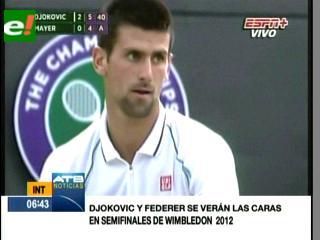 """Djokovic y Federer se verán en """"semis"""""""