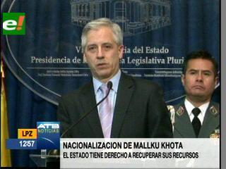 Bolivia ofrece compensar a empresa canadiense por reversión de concesión