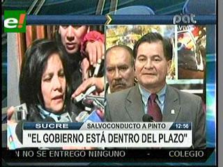 Bolivia aguarda que Brasil decline petición de salvoconducto para Roger Pinto