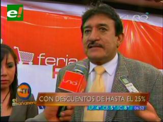 Feria de Remate en La Paz ofertará productos a un 25% menos que su costo original