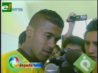 El delantero colombiano Harold Reina es el nuevo refuerzo de The Strongest