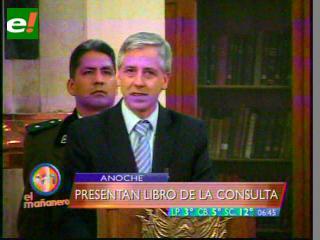 """García Linera: Los medios construyeron el mito """"Tipnis, la gran estafa"""""""