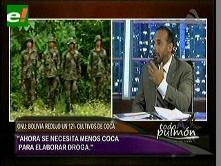 Guedes: Bolivia se convierte en un lugar de tránsito de cocaína