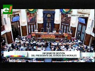 """Evo: """"El Ministro de la Presidencia anda enamorado de la zona amazónica"""""""