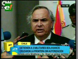 Militares bolivianos armados son detenidos en territorio chileno