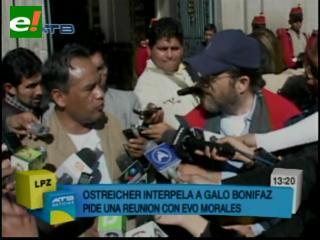 Gobierno asegura que caso Ostreicher no es competencia de Evo
