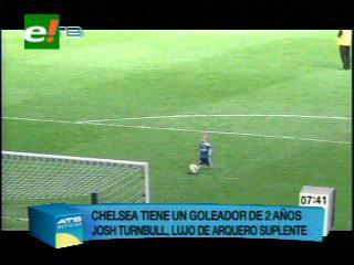 Sólo tiene dos años y ya es goleador del Chelsea
