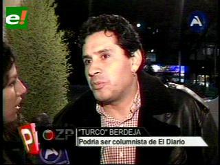 """El """"Turco"""" Berdeja vuelve a la TV"""