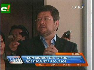 """Doria Medina denuncia que recursos de """"Bolivia Cambia"""" no fueron una donación de Venezuela"""