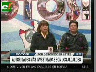 Suxo denuncia que en Potosí no avanzan 60 denuncias contra alcaldes por supuesta corrupción