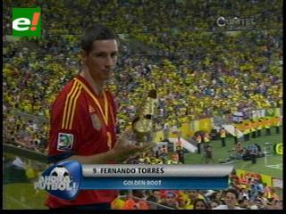 """Torres, """"Bota de Oro"""" de la Copa Confederaciones Brasil 2013"""