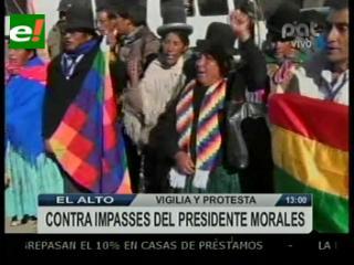 Sectores sociales recibirán en el aeropuerto de El Alto al Presidente Morales
