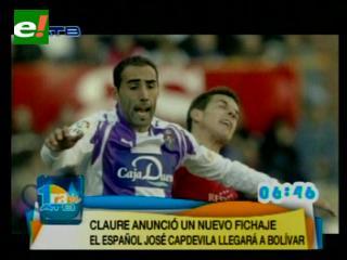 Sánchez Capdevila reemplazará a Campos en Bolívar