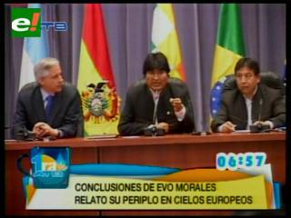Gobiernos de la Unasur exigen a cuatro países de Europa explicar y disculparse por el bloqueo a Evo
