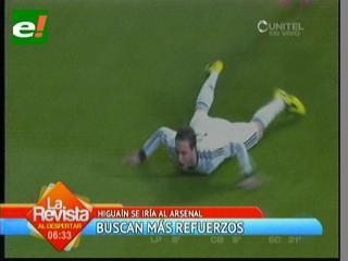 Higuaín se va al Arsenal