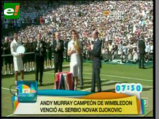 Murray, primer campeón británico de Wimbledon desde 1936 al ganar a Djokovic
