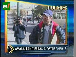 Titulares: Oficialismo rechaza avasallamientos a tierras de Jacob Ostreicher