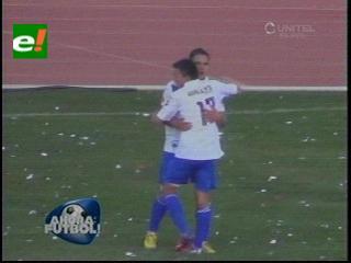 San José se impuso a Real Potosí por tres a cero