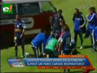 Futbolista peruano muere de un paro cardiaco jugando en la altura