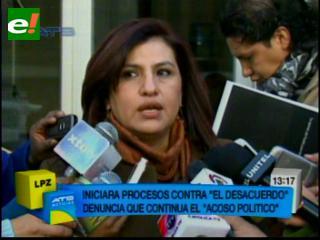 Rebeca Delgado denuncia acoso político: Quieren que me calle
