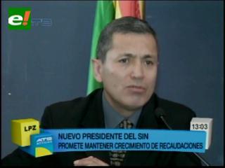 Erick Ariñez Bazán es el nuevo presidente de Impuestos Nacionales: Soy un servidor público más