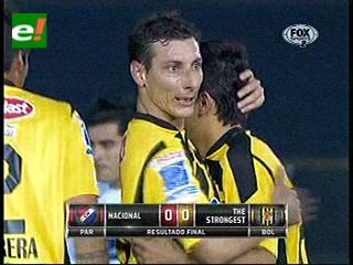 Copa Sudamericana 2013: The Strongest empata con Nacional de Paraguay