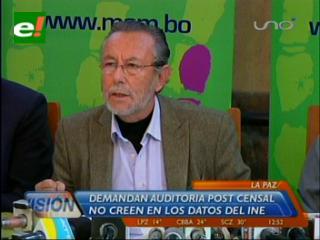 MSM pide a la población no aceptar ni validar datos del censo 2012