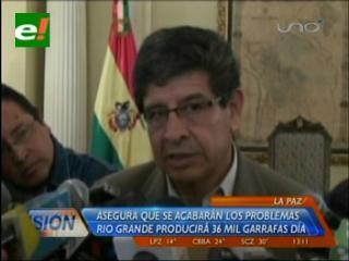 La planta de Río Grande ya inició sus operaciones, cada día produce 36 mil garrafas de GLP
