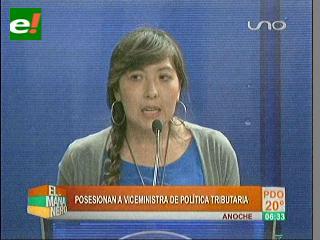 Posesionan a Susana Ríos como viceministra de Política Tributaria