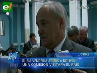 Rusia venderá armas a Bolivia