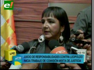 Fernández, primer sometido a juicio de responsabilidades. Gonzales califica de complot y persecución política