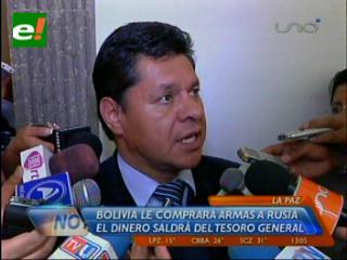 Bolivia escucha propuestas de Rusia para compra de armamento