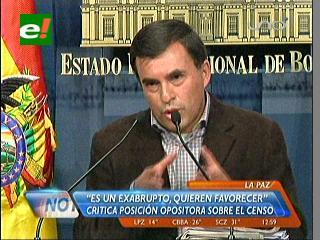 Gobierno defiende evaluación del Celade al Censo