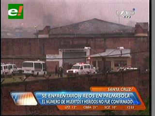 Palmasola sufre la mayor tragedia carcelaria de Bolivia