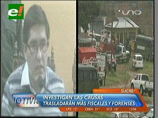 Ministerio Público conforma comisión de fiscales para investigar la tragedia en Palmasola