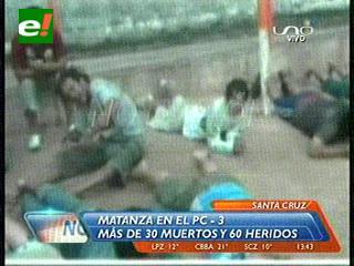¡Masacre en Palmasola! Imágenes de los heridos